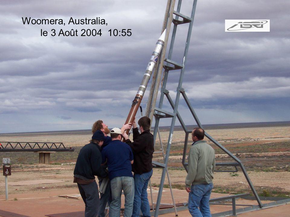 Woomera, Australia, le 3 Août 2004 10:55