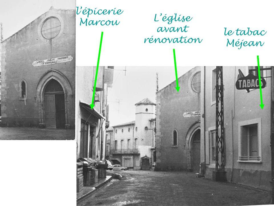 L'église avant rénovation