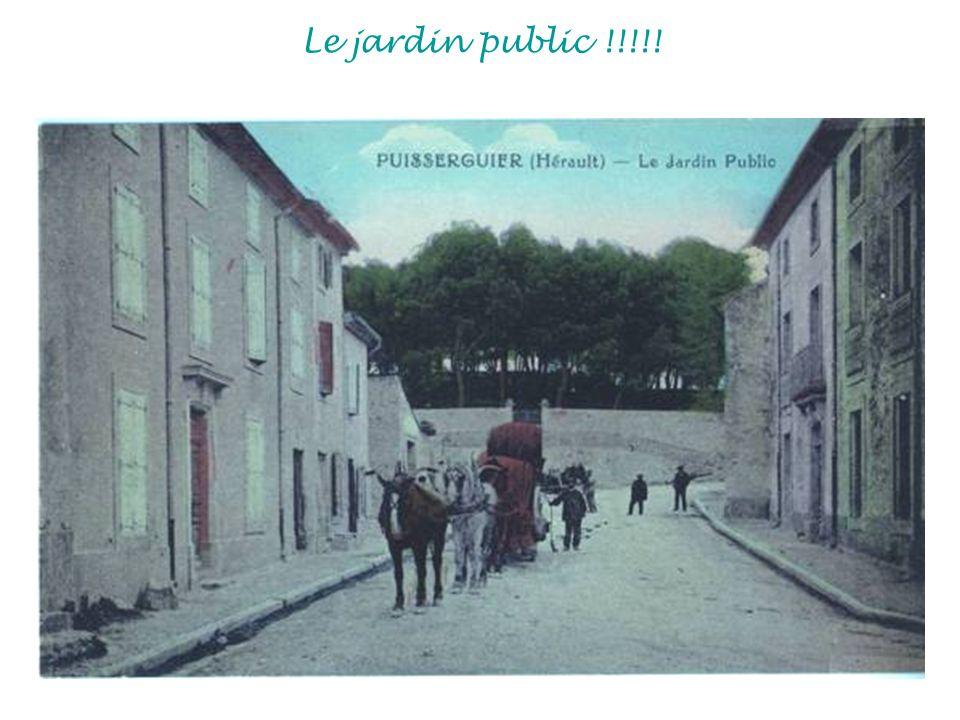 Le jardin public !!!!!