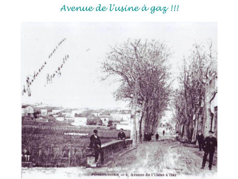 Avenue de l'usine à gaz !!!