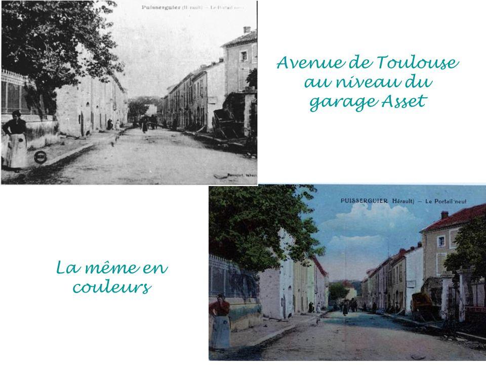 Avenue de Toulouse au niveau du garage Asset