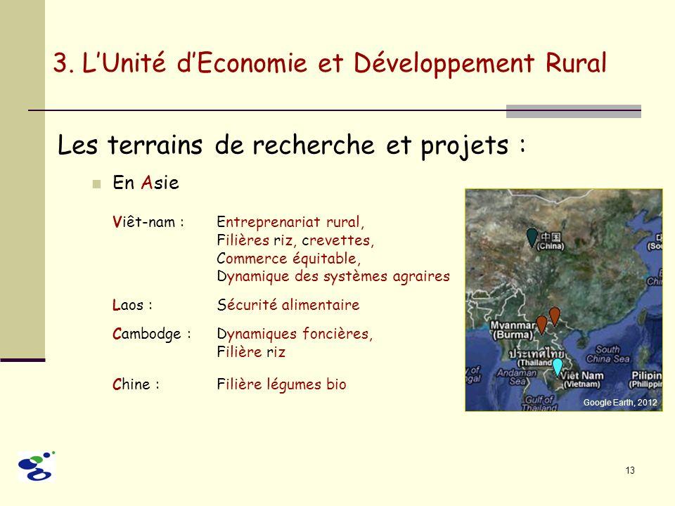 3. L'Unité d'Economie et Développement Rural