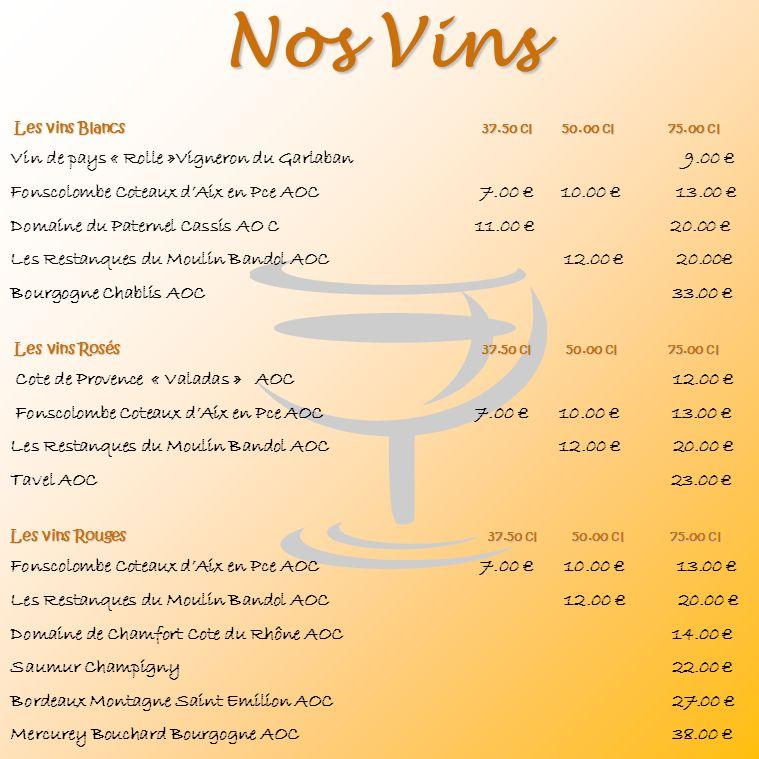 Nos Vins Vin de pays « Rolle »Vigneron du Garlaban 9.00 €