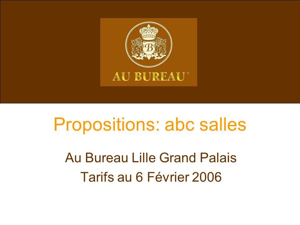 Propositions: abc salles