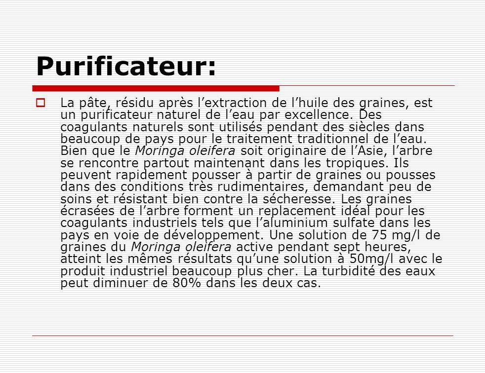 Purificateur: