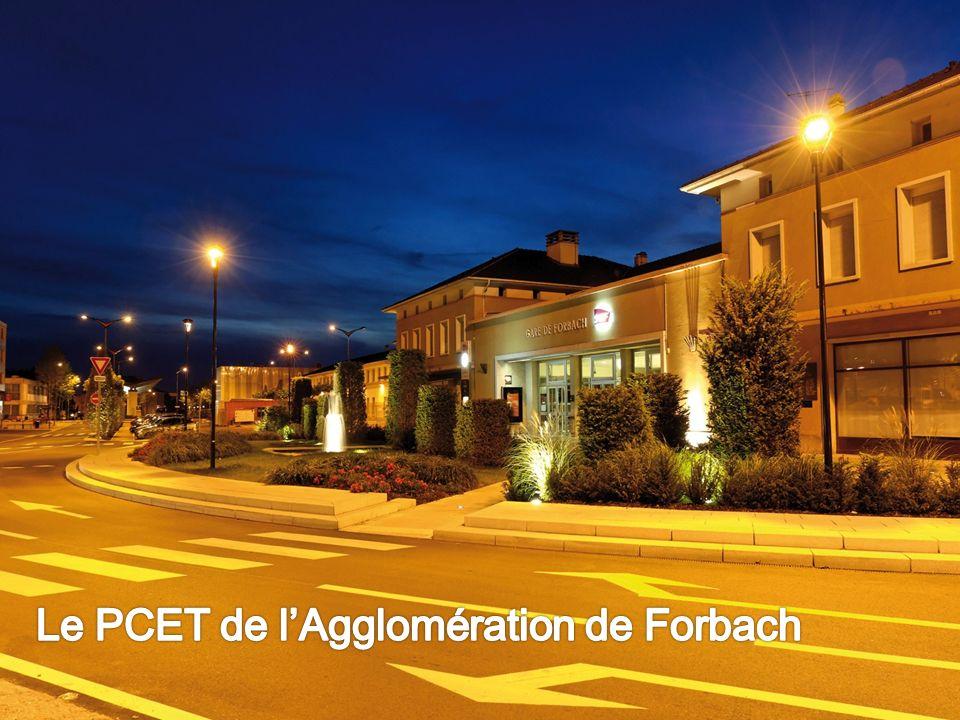 Le PCET de l'Agglomération de Forbach