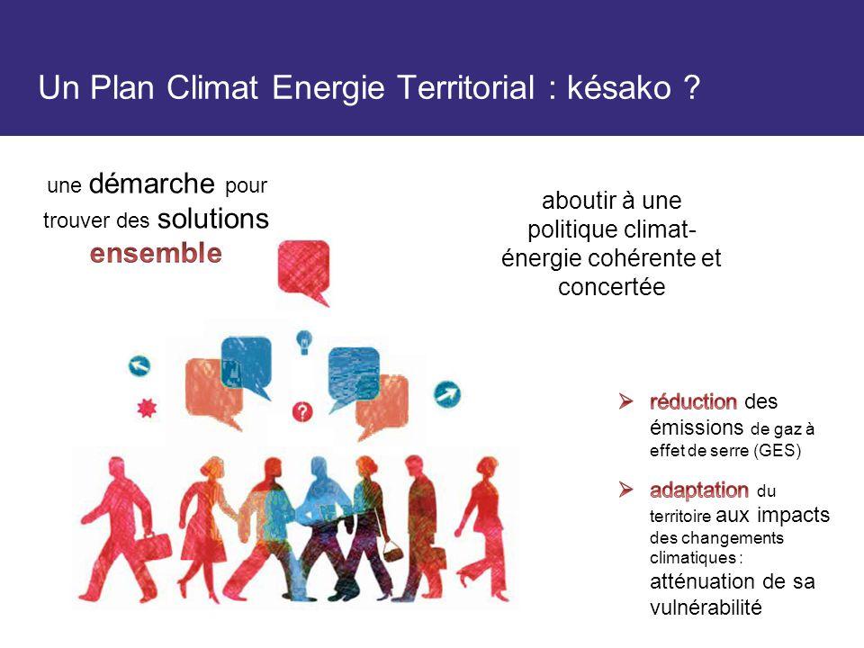Un Plan Climat Energie Territorial : késako
