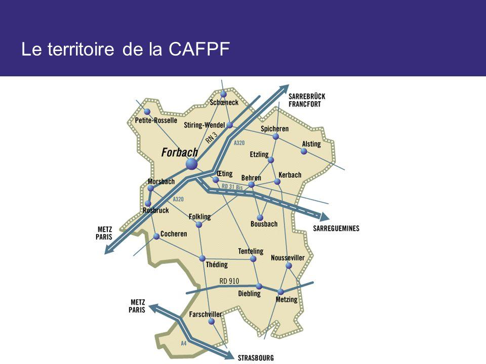 Le territoire de la CAFPF