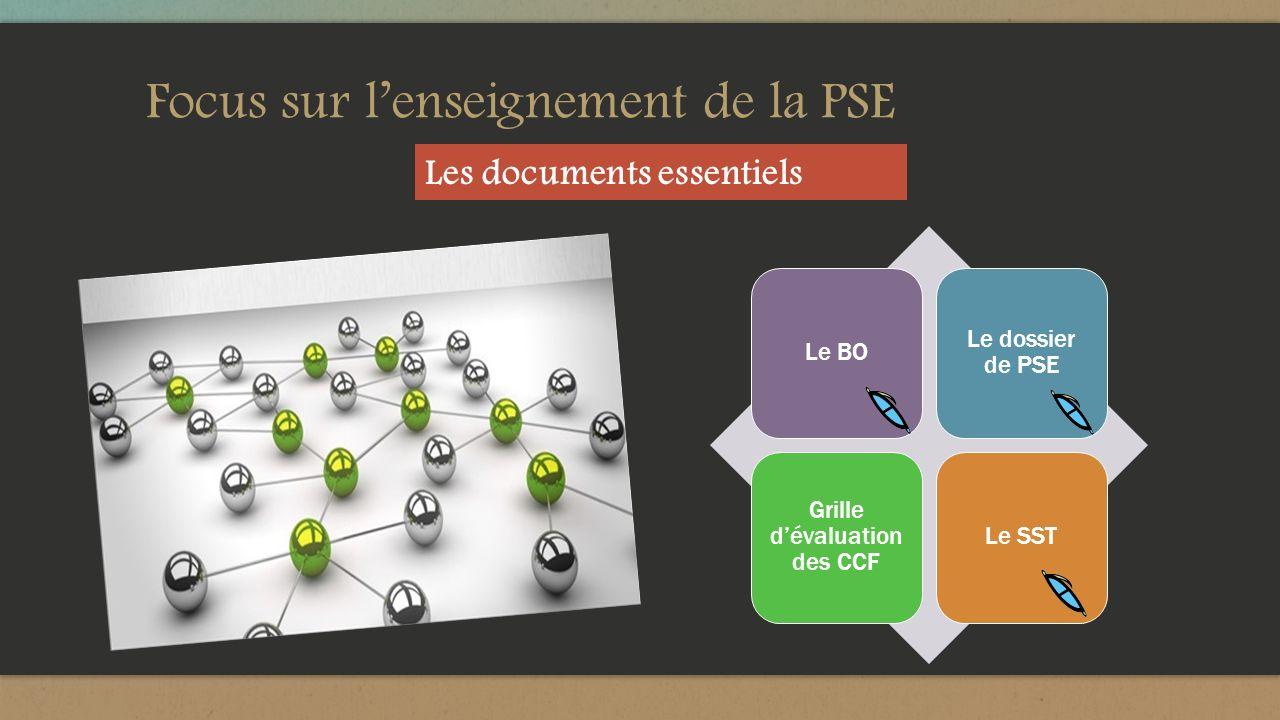 Focus sur l'enseignement de la PSE
