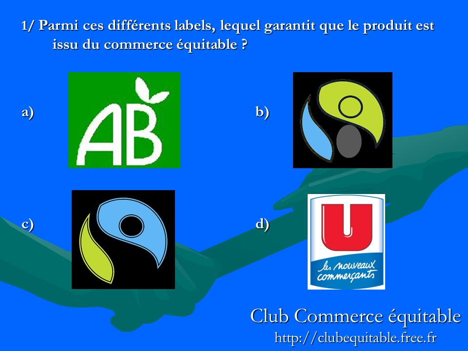 Club Commerce équitable http://clubequitable.free.fr