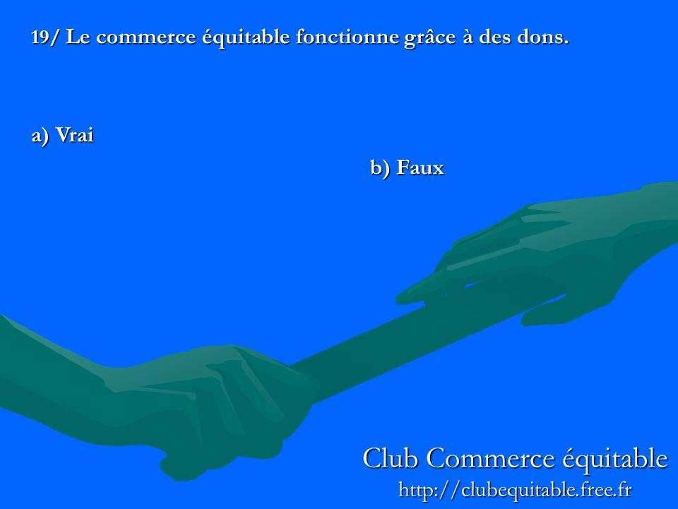 Club Commerce équitable