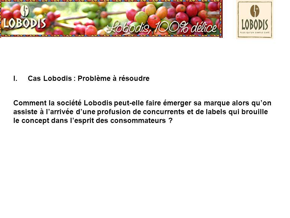 Cas Lobodis : Problème à résoudre