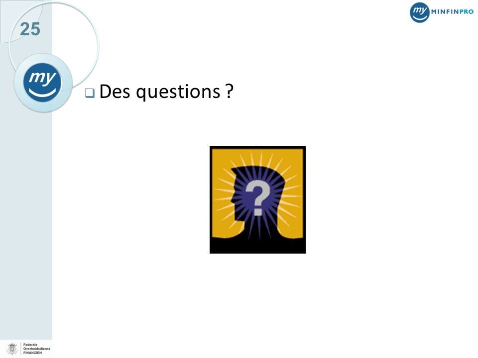 Des questions JOS Vragen en antwoorden