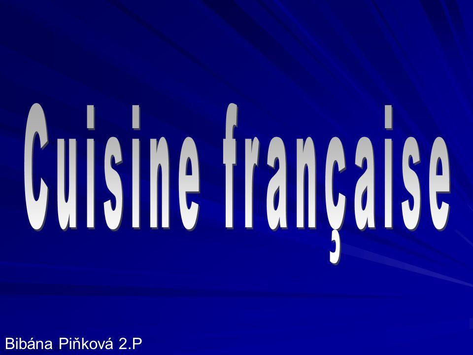 Cuisine française Bibána Piňková 2.P