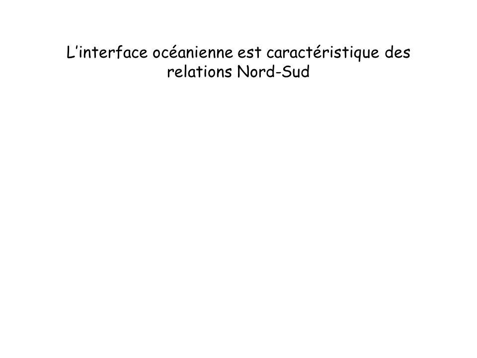 L'interface océanienne est caractéristique des relations Nord-Sud