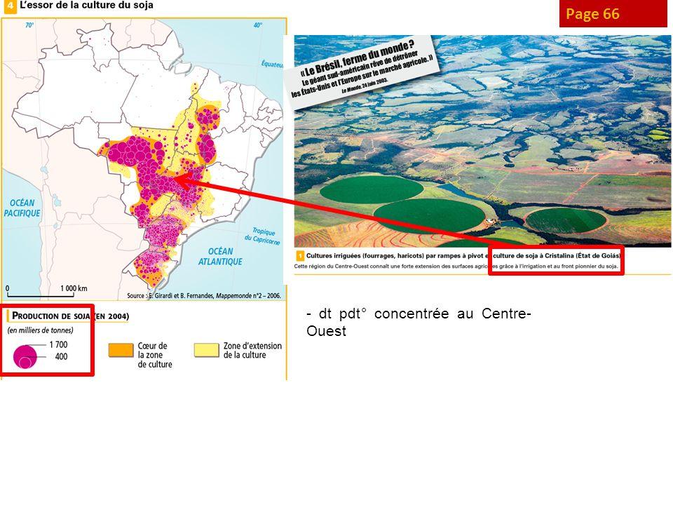 Page 67 Page 66 - dt pdt° concentrée au Centre-Ouest