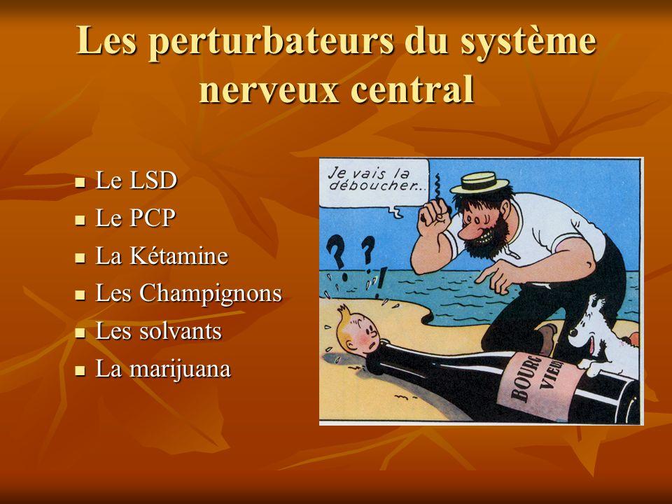 Les perturbateurs du système nerveux central