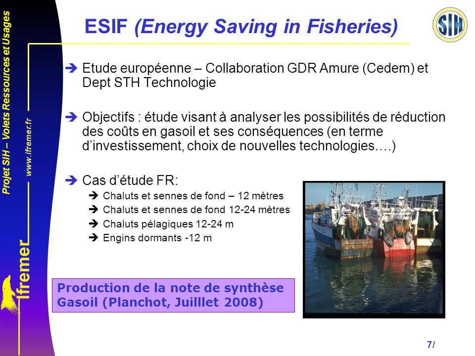 ESIF (Energy Saving in Fisheries)