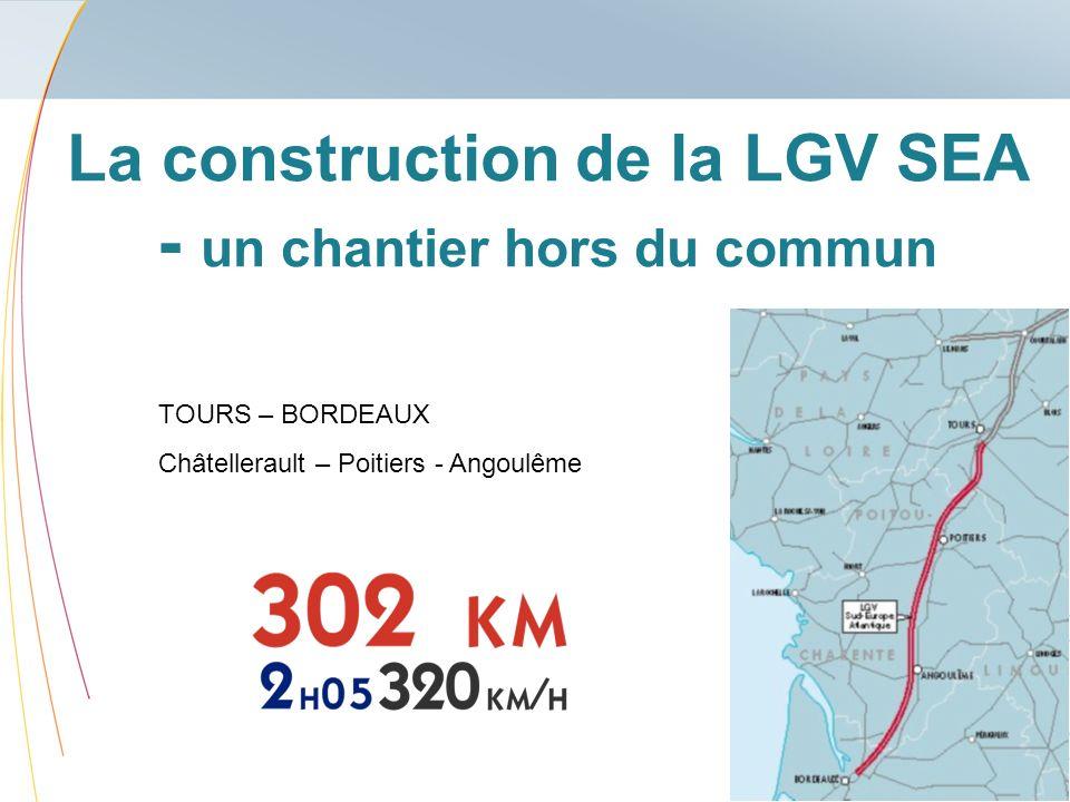 La construction de la LGV SEA - un chantier hors du commun