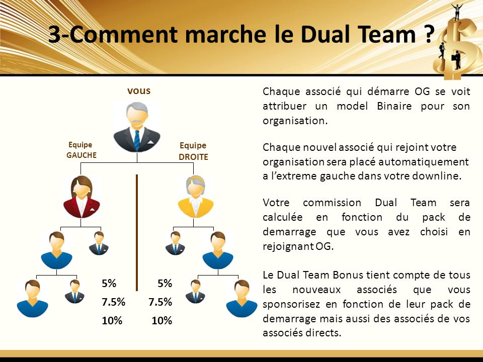 3-Comment marche le Dual Team