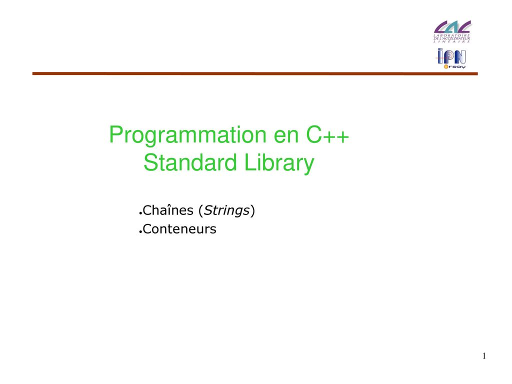 Programmation En C Standard Library Ppt Video Online Telecharger