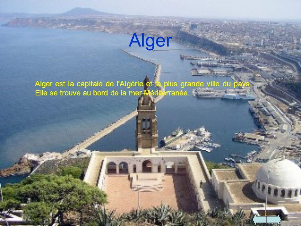 AlgerAlger est la capitale de l Algérie et la plus grande ville du pays.