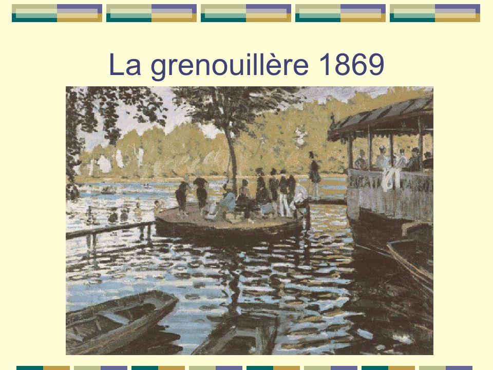 La grenouillère 1869