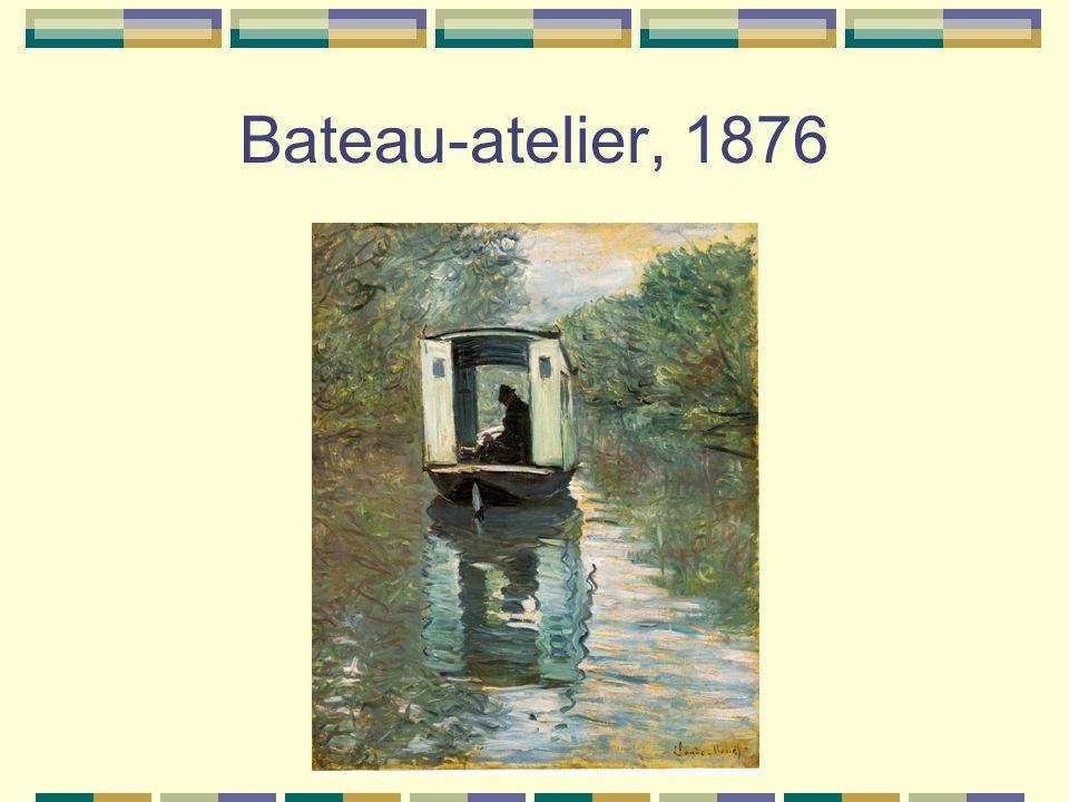 Bateau-atelier, 1876