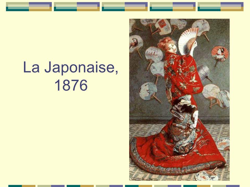 La Japonaise, 1876