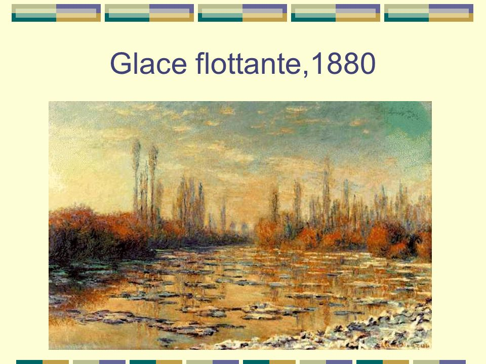 Glace flottante,1880