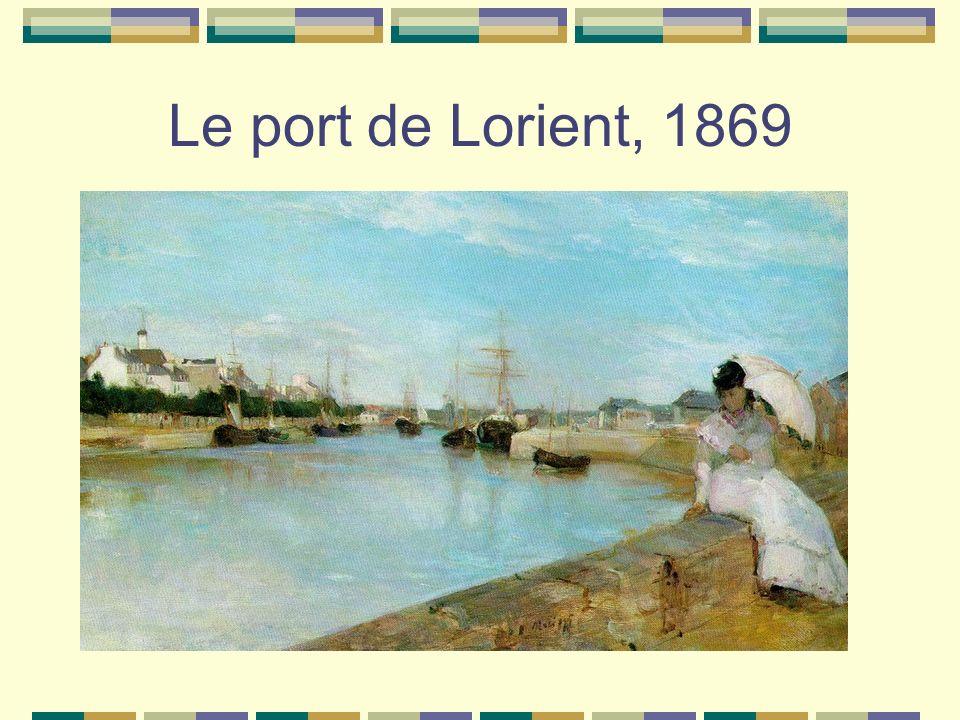 Le port de Lorient, 1869