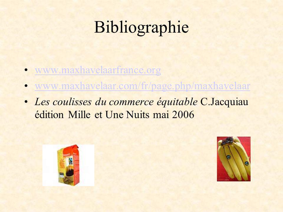 Bibliographie www.maxhavelaarfrance.org