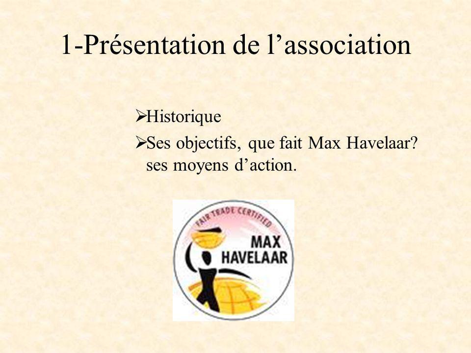 1-Présentation de l'association