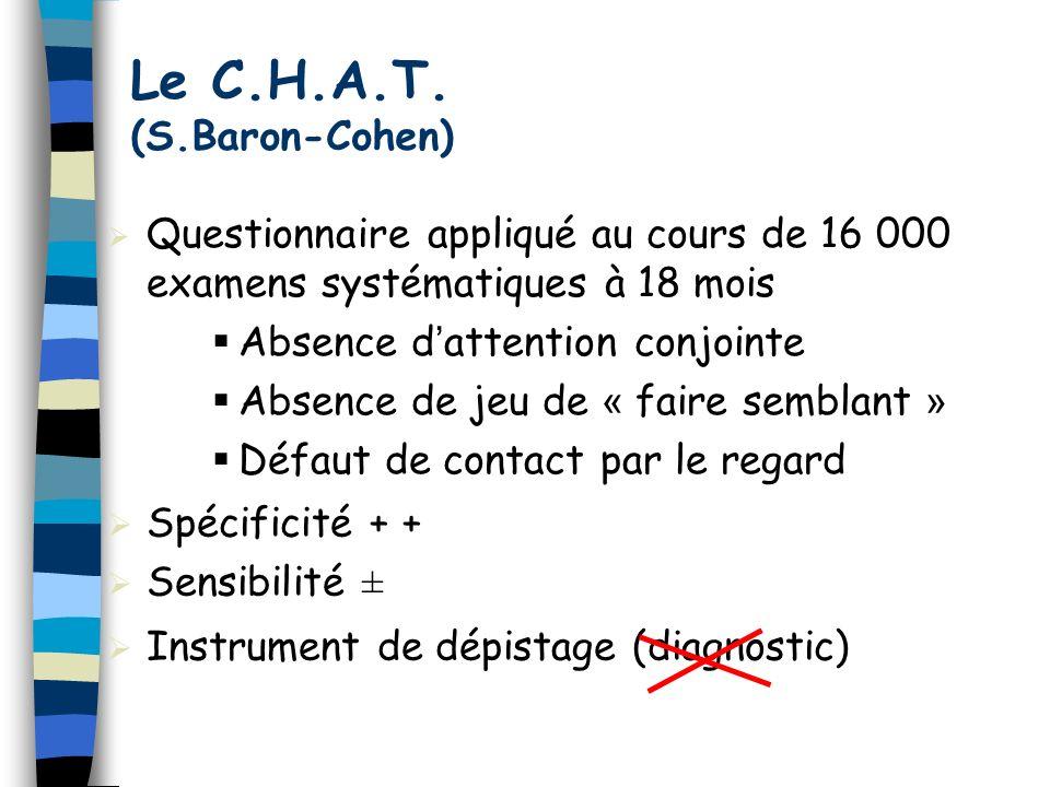 Le C.H.A.T. (S.Baron-Cohen)