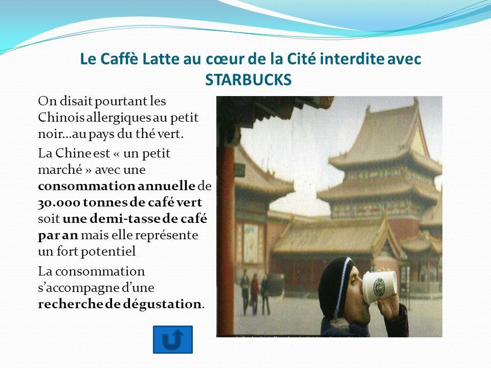 Le Caffè Latte au cœur de la Cité interdite avec STARBUCKS