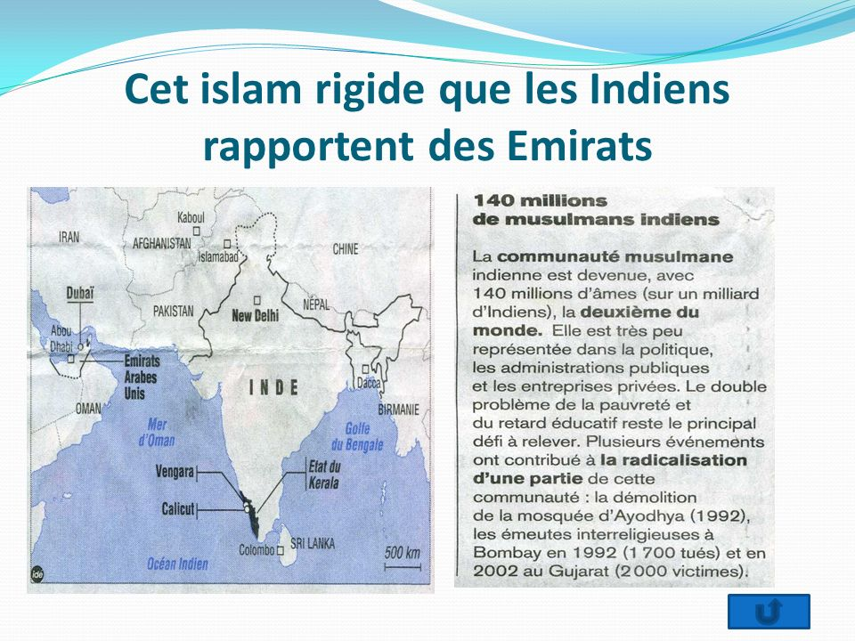 Cet islam rigide que les Indiens rapportent des Emirats