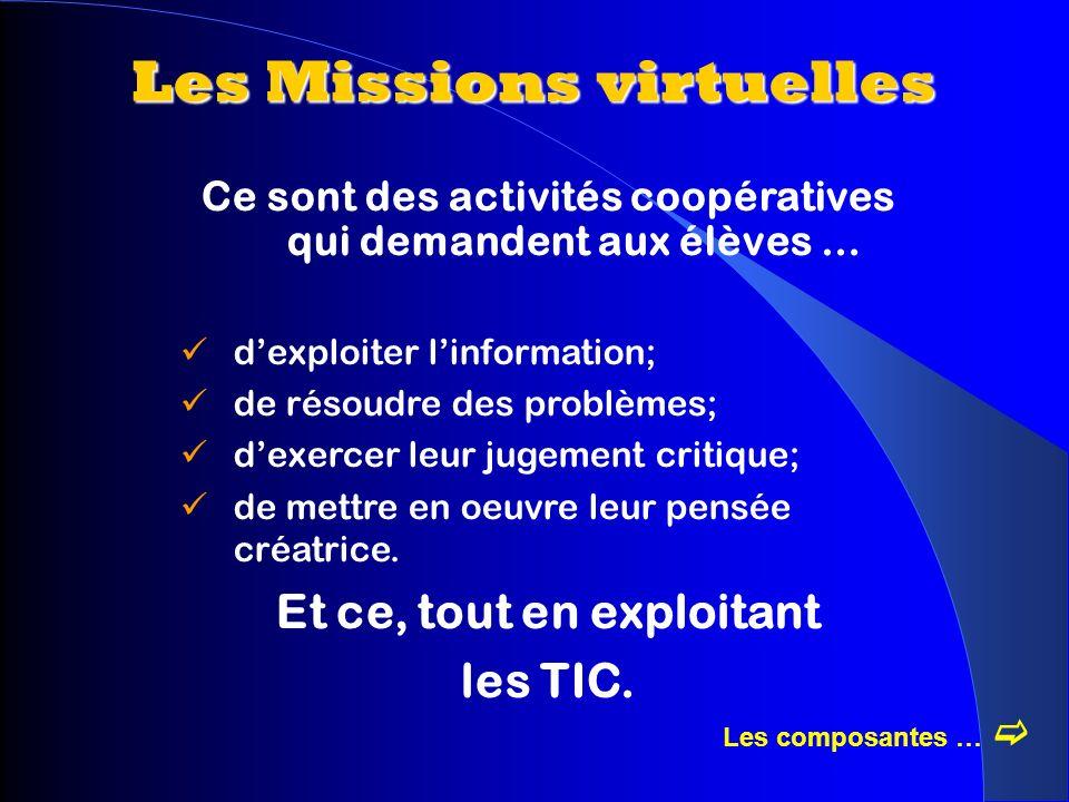 Les Missions virtuelles