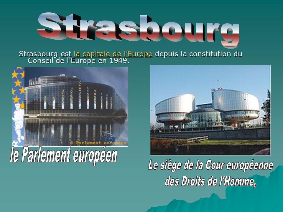 Le siège de la Cour européenne