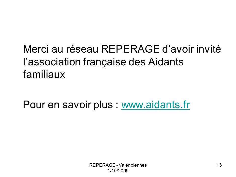REPERAGE - Valenciennes 1/10/2009