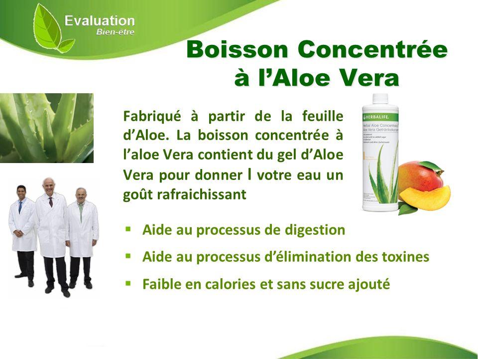 Boisson Concentrée à l'Aloe Vera
