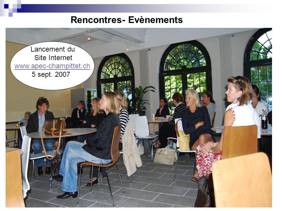 Rencontres- Evènements