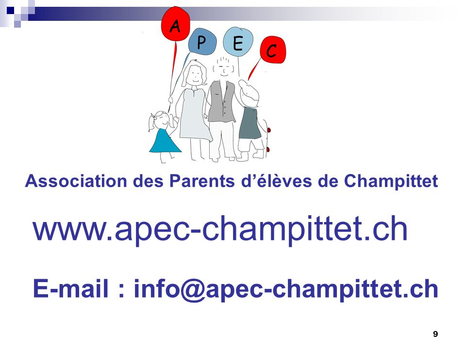 www.apec-champittet.ch E-mail : info@apec-champittet.ch