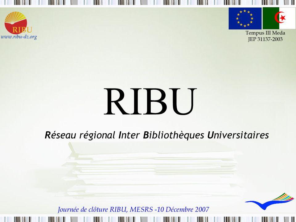 Réseau régional Inter Bibliothèques Universitaires