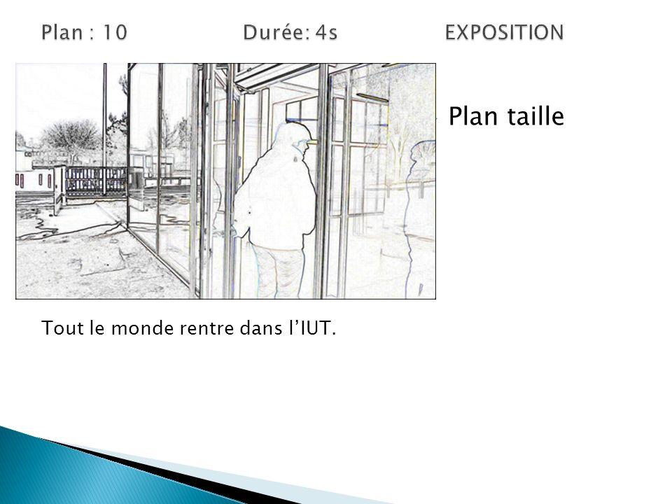 Plan : 10 Durée: 4s EXPOSITION