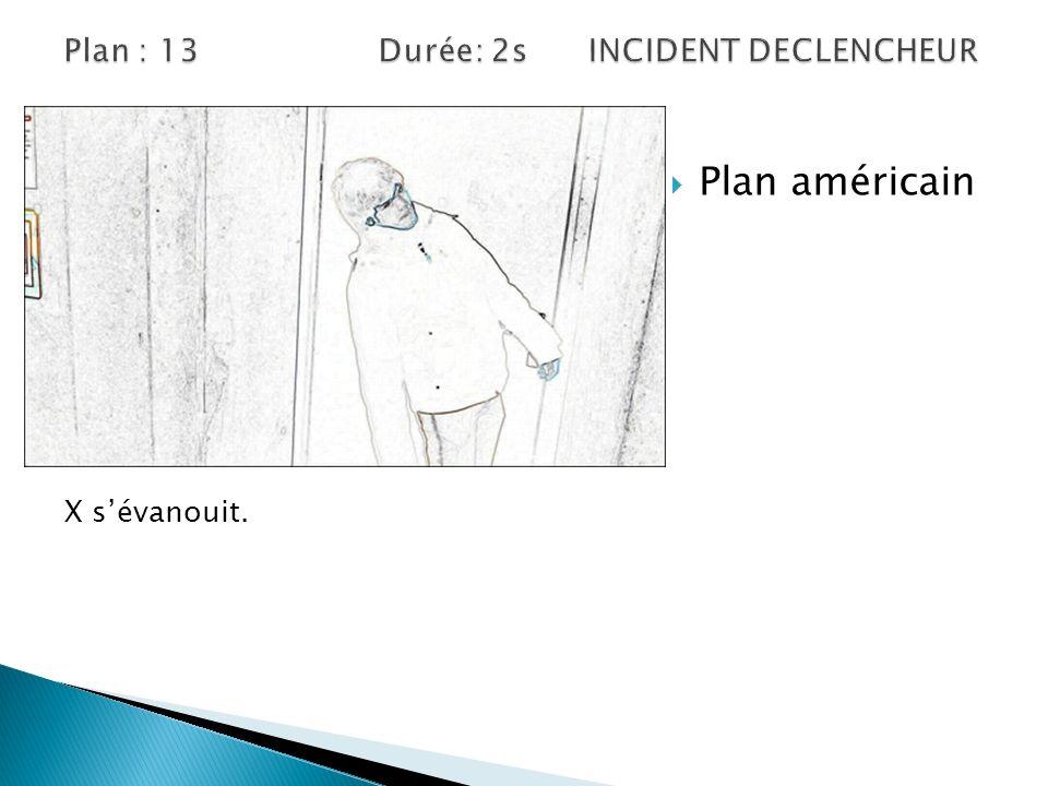 Plan : 13 Durée: 2s INCIDENT DECLENCHEUR