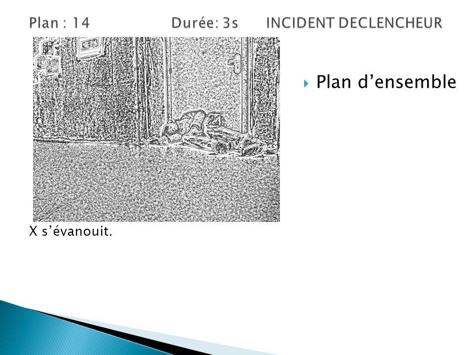 Plan : 14 Durée: 3s INCIDENT DECLENCHEUR