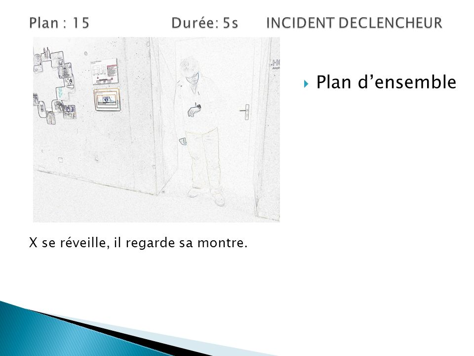 Plan : 15 Durée: 5s INCIDENT DECLENCHEUR