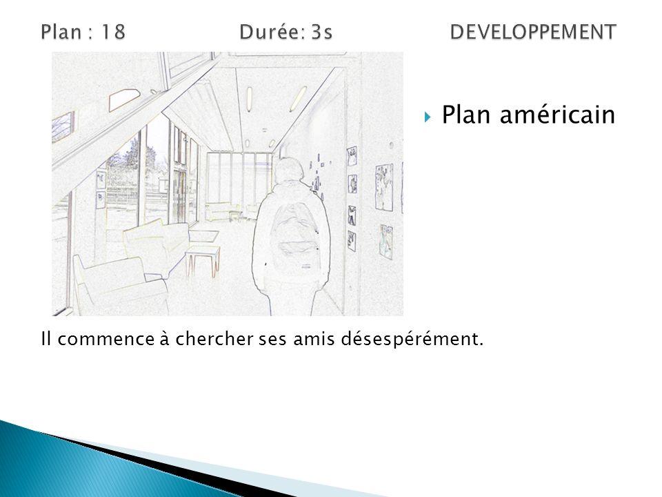 Plan : 18 Durée: 3s DEVELOPPEMENT