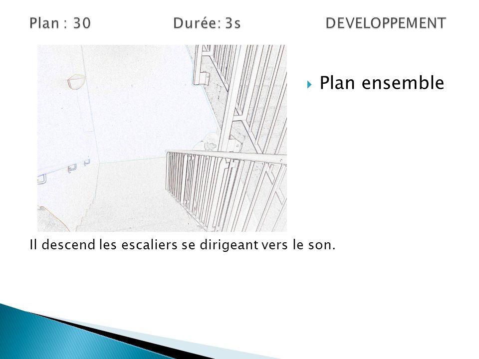 Plan : 30 Durée: 3s DEVELOPPEMENT