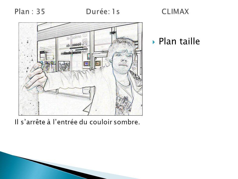 Plan taille Plan : 35 Durée: 1s CLIMAX